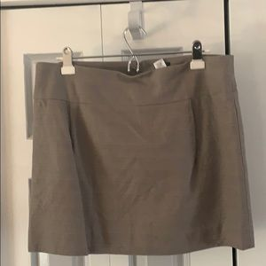 J Crew Taupe/Gray skirt